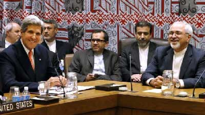 ایران و آمریکا و ظریف و روحانی