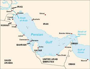 خلیج فارس یا خلیج عربی