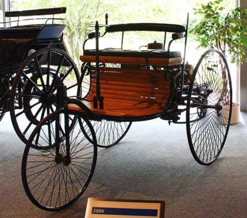 خودرو بنز با موتور احتراق داخلی - مدل ۱۸۸۶