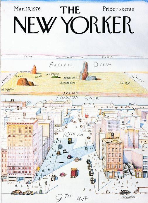 طرح روی جلد نیویورکر