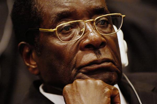 روبرت موگابه و قرعه کشی زیمبانک در زیمبابوه