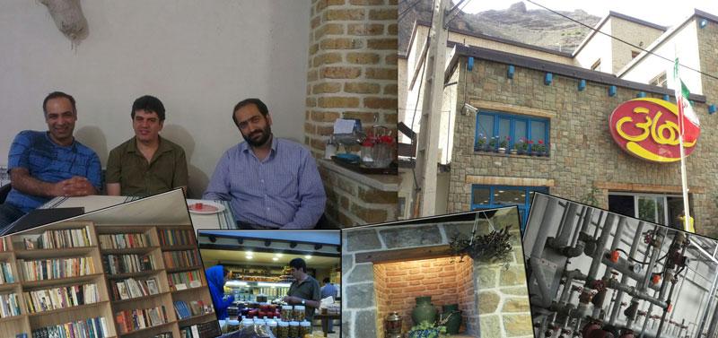 رادیو مذاکره گفتگو با ایزد پلخوابی و محمدرضا پوراکبر مجموعه دهاتی جاده چالوس