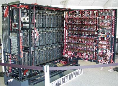 آلن تورینگ و دستگاه رمزگشایی Alan Turing Bombe machine