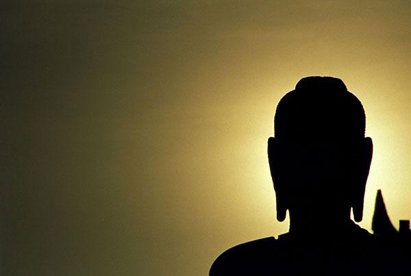 Buddha_sunset