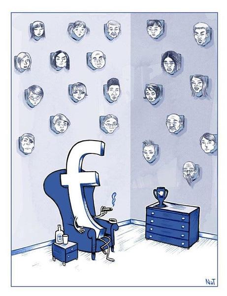 آیا شبکه های اجتماعی مانند فیس بوک واقعاً یک تهدید هستند؟