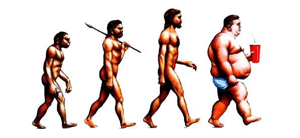 در دنیای مجهز به تکنولوژی، ما به تدریج چاق تر میشویم!