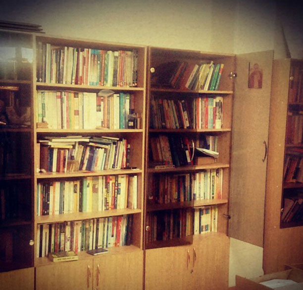 کتابخانه محمدرضا شعبانعلی