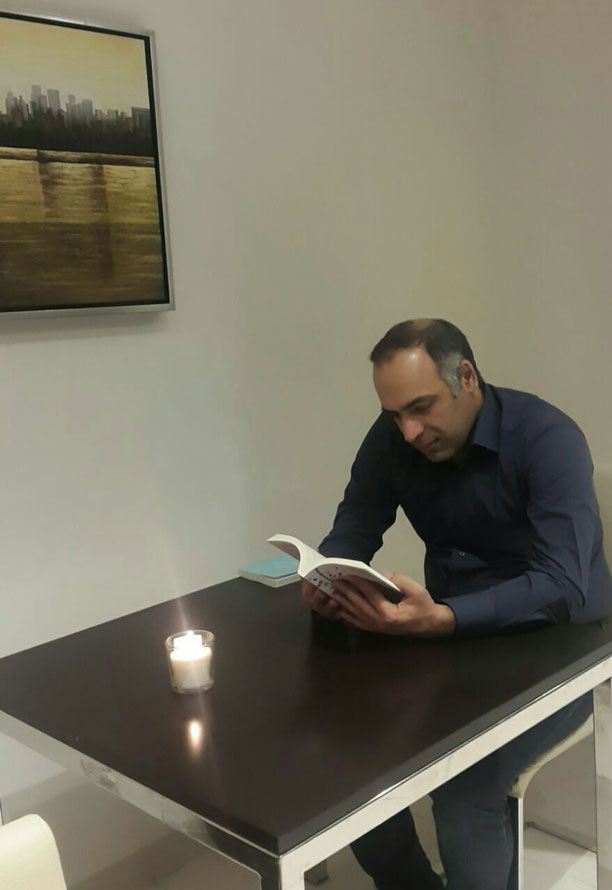 محمدرضا شعبانعلی - مطالعه کتاب نیل جانسون