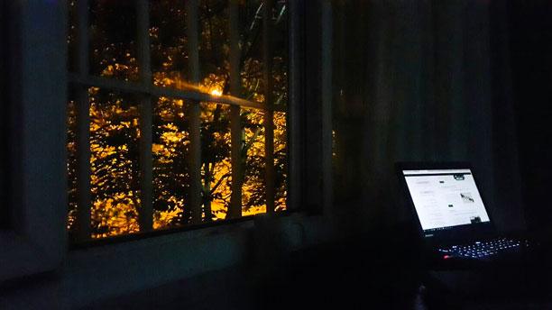 لحظه نگار - کار در شب - محمدرضا شعبانعلی