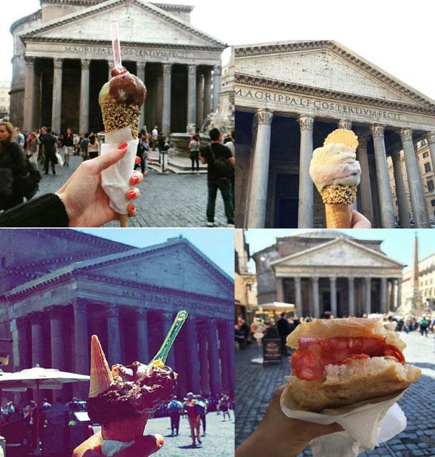 پانتئون در رم - ایتالیا