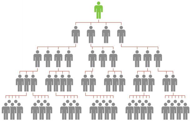 ساختار شبکه های هرمی