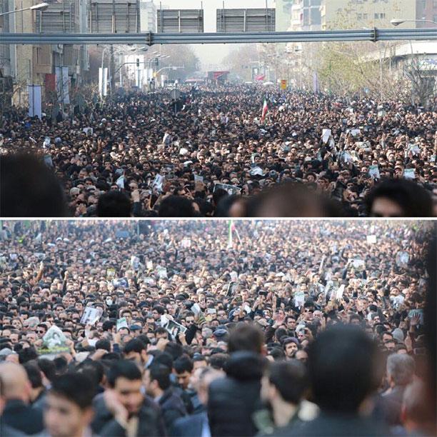 تشییع پیکر آقای هاشمی رفسنجانی