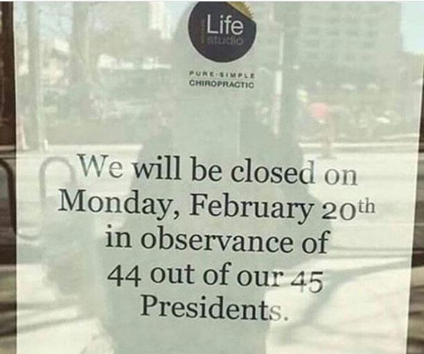 روز رییس جمهورها - آمریکا