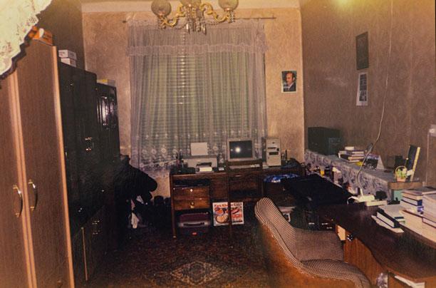 اتاق محمدرضا شعبانعلی در دوران نوجوانی