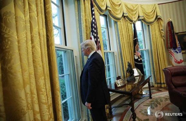 دونالد ترامپ در کاخ سفید