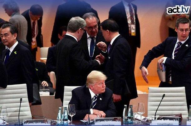 ترامپ در اجلاس جی ۲۰
