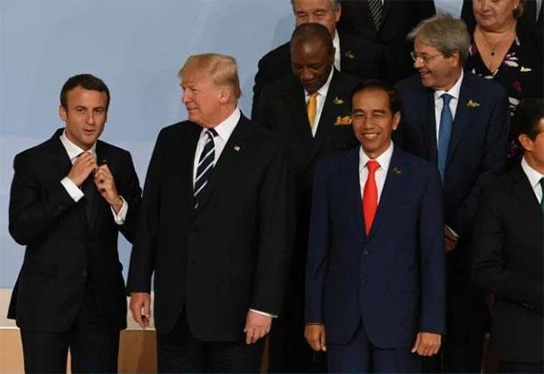 دونالد ترامپ در اجلاس رهبران کشورهای صنعتی