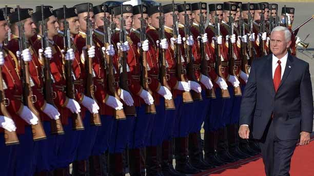 مایک پنس رییس جمهور آمریکا