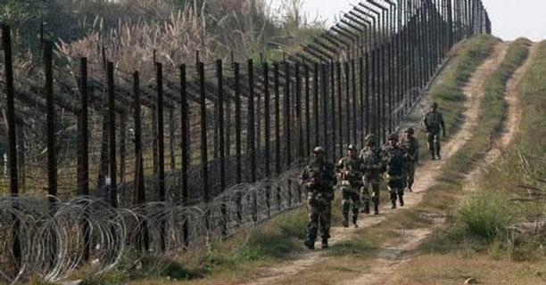 مرز هند و پاکستان در روز