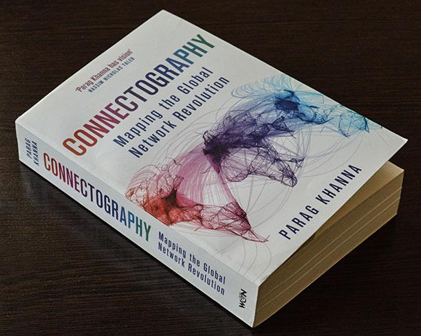 کتاب کانکتوگرافی نوشته پاراگ خانا - درباره جغرافیای جهان در عصر جدید