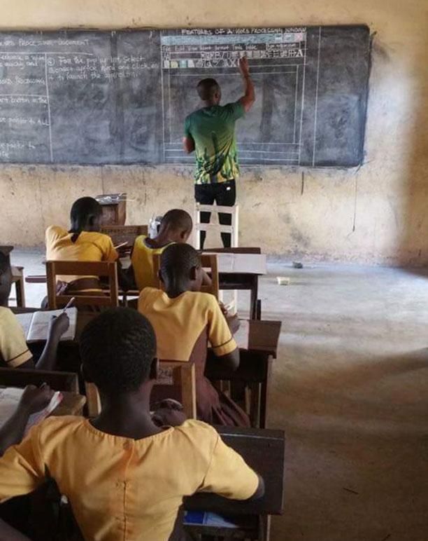 آموزش مایکروسافت ورد در غنا