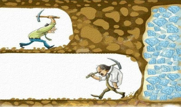 هرگز تسلیم نشو - تأکیدی بر اهمیت پشتکار