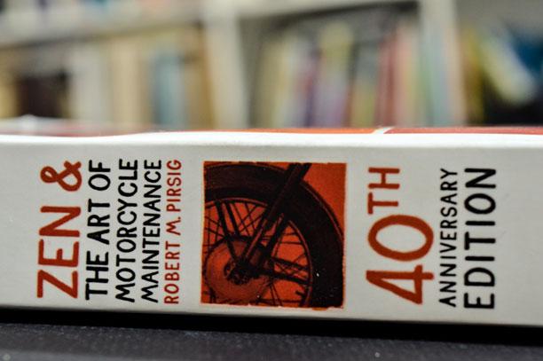 کتاب ذن و هنر نگهداری موتور سیکلت رابرت پیرسیگ
