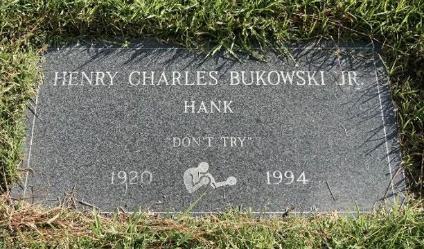 سنگ قبر بوکوفسکی